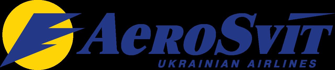File:AeroSvit Ukrainian Airlines modern logo.svg - Aerosvit Airlines Logo PNG