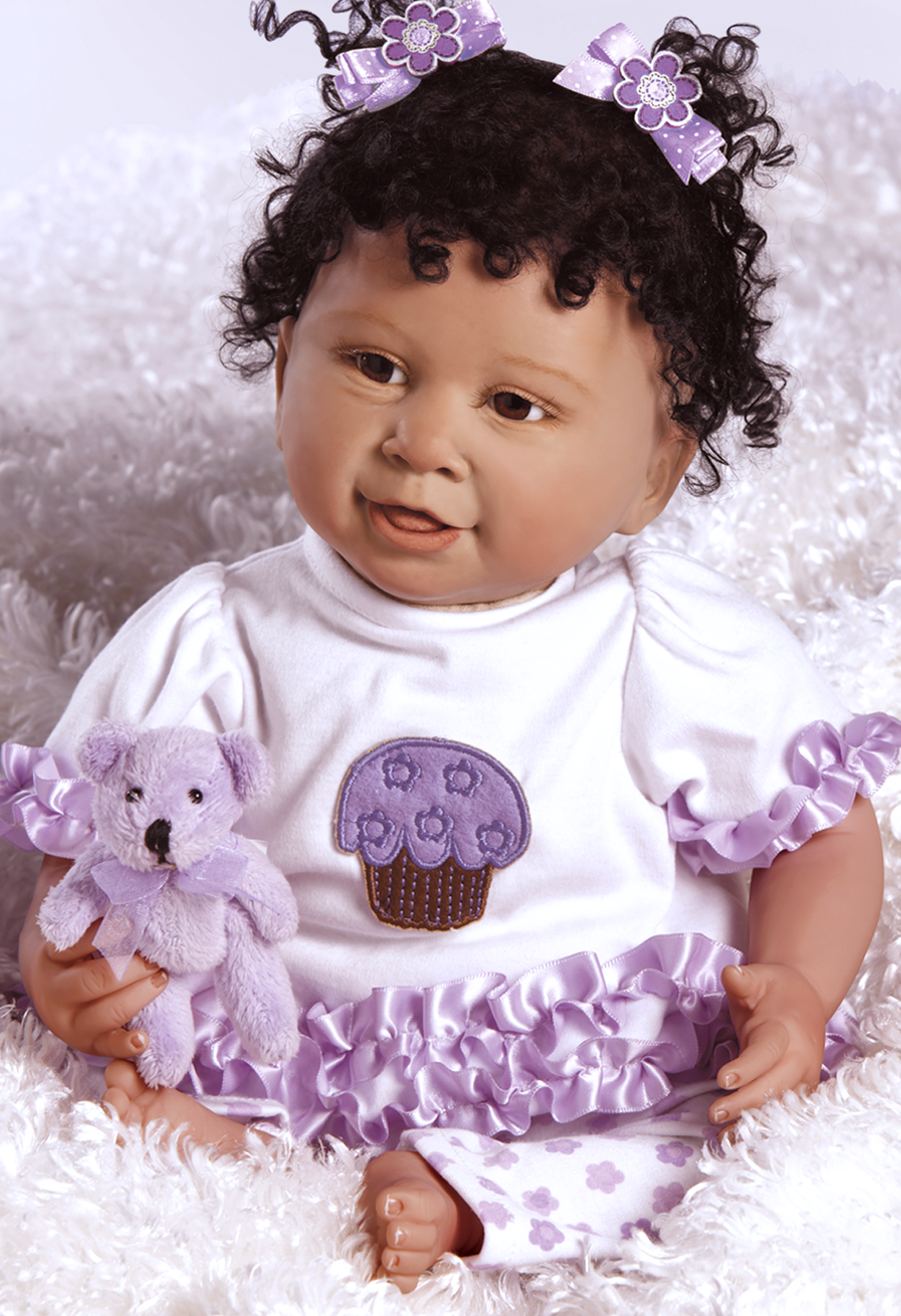 african-american-baby-doll-cupcake_3.png (PNG Image, 1225 - African American Baby PNG HD