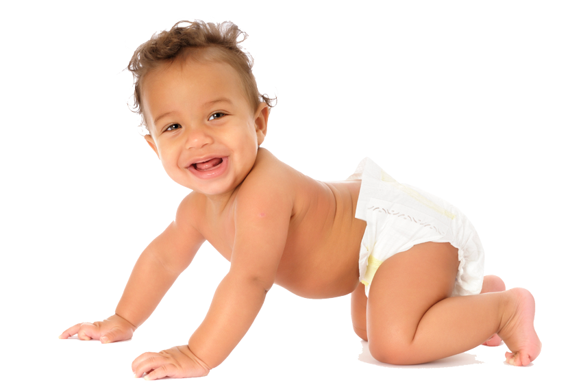 African-American-Baby-sml.png PlusPng.com  - African American Baby PNG HD