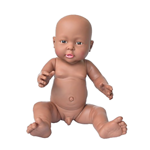 Image is loading Doll-Toy-African-American-Baby-Doll-Rifi-16- - African American Baby PNG HD