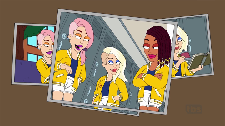 Blanch, with pink hair, Sophia, the blonde ringleader and Dorothy, an  African-American student, are known collectively as The Golden Girls, the  meanest and PlusPng.com  - African American Dad PNG