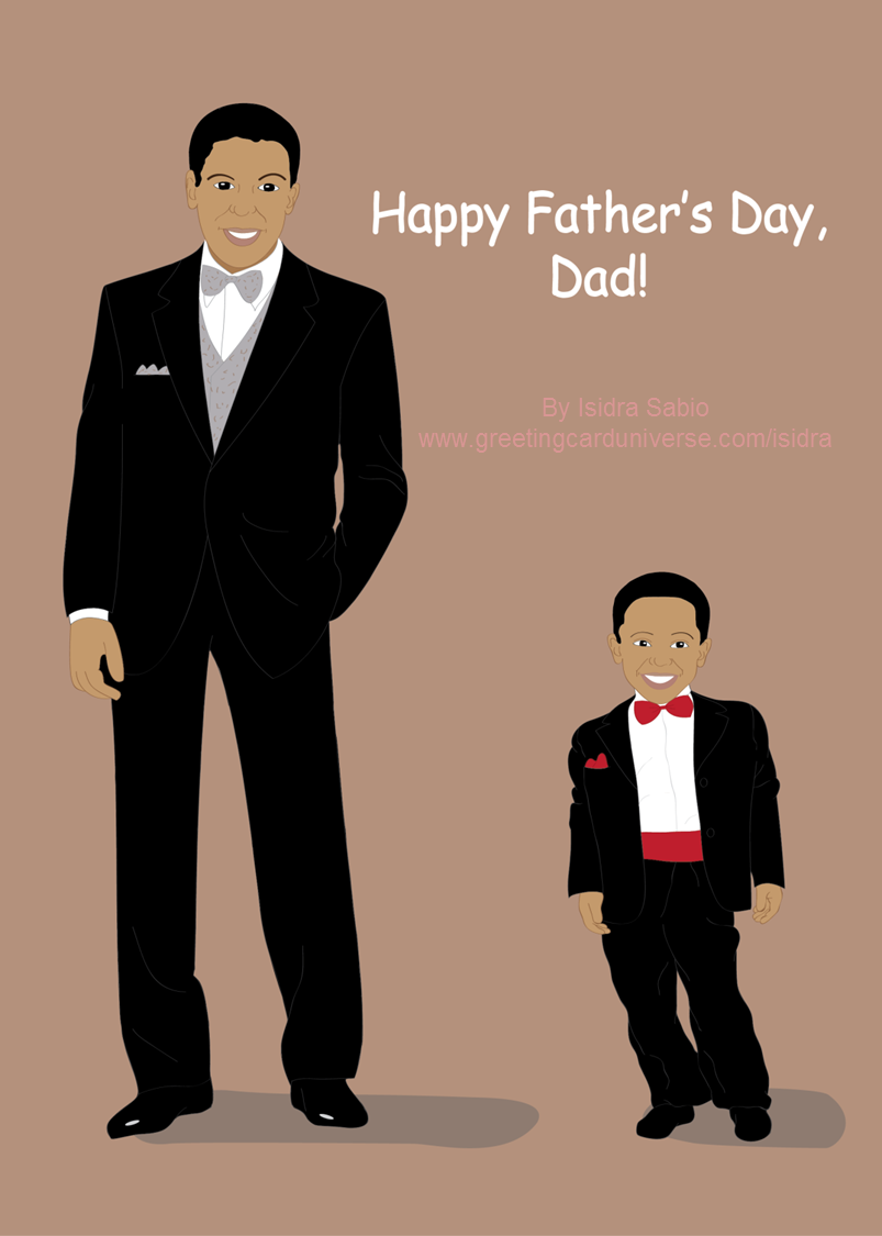 African American Dad PNG-Plus