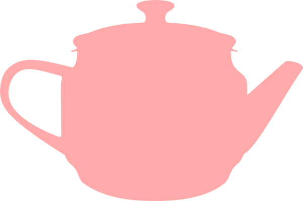 Tea Pink Pot clip art - Afternoon Tea Party PNG