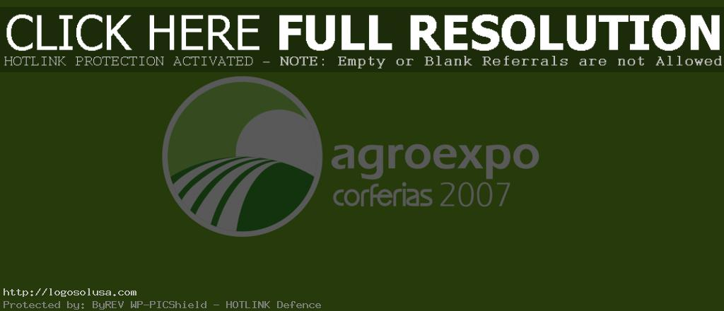 AgroExpo 2007 logo photo 1 PlusPng.com  - Agroexpo 2007 Logo PNG