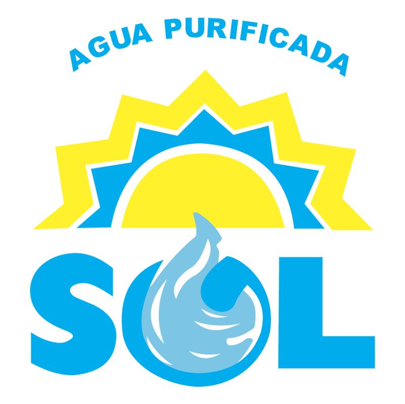 Agua Sol Logo Vector PNG