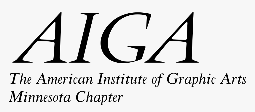 Amer Inst Of Graphic Arts Logo Png Transparent - Aiga, Png Pluspng.com  - Aiga Logo PNG