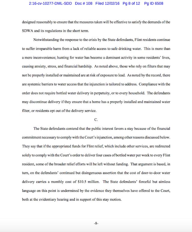 flint-court-document-page-8 - Air Court Motion PNG