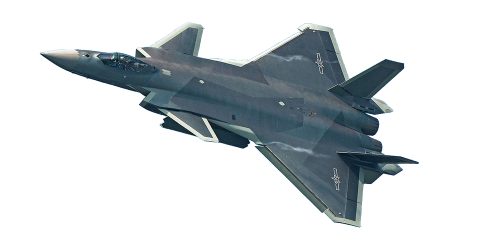 aircraft military isolated fi