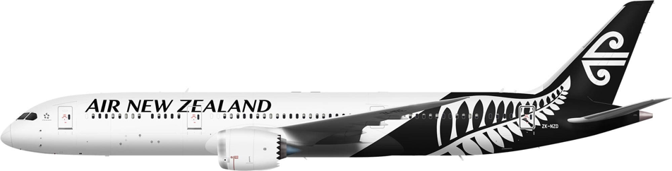 Boeing 787-9 - Air New Zealand PNG