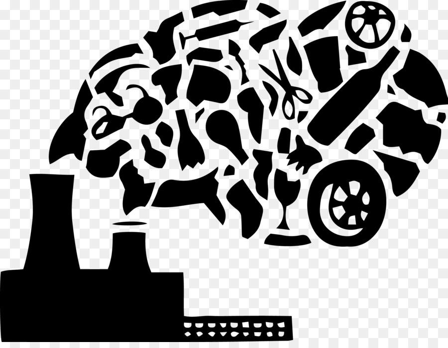 Air pollution Black u0026 White Clip art - POLLUTION - Air Pollution PNG Black And White