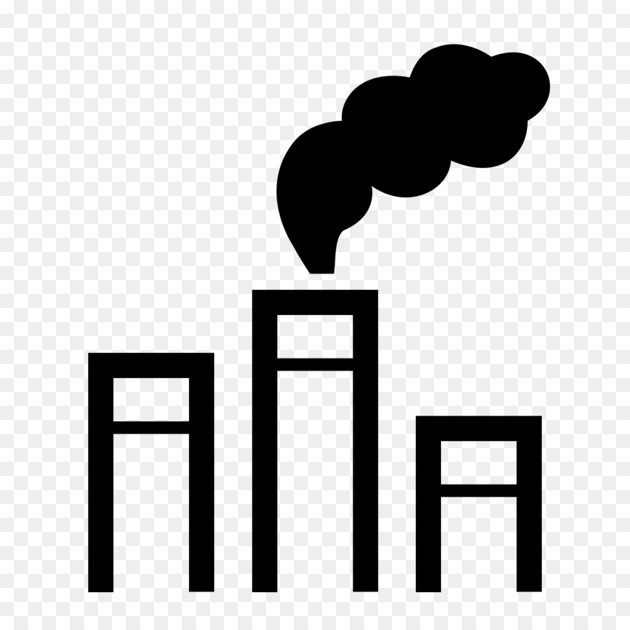Air pollution Natural environment Computer Icons Global warming - chimney - Air Pollution PNG Black And White