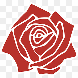 Red vector rose, Vector Flowers, Champag, FLOWER PNG and Vector - Air Rose Vector PNG