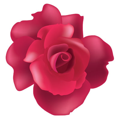 Vector Rose by melemel on Clipart library - Air Rose Vector PNG