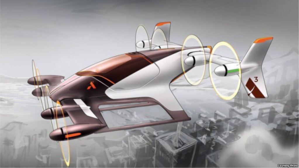 Airbus has announced plans to test a prototype of a self-flying vehicle to  transport - Air Texi PNG