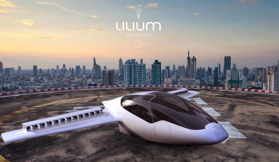 Electric plane Lilium Jet secures u20ac10 million funding from Atomico to start  the air taxi era - Air Texi PNG
