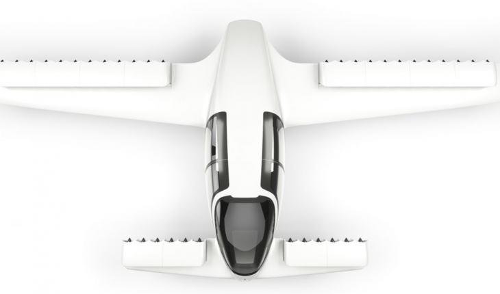 VTOL electric plane with 36 engines has successful test flight and will  enable air taxi service - Air Texi PNG