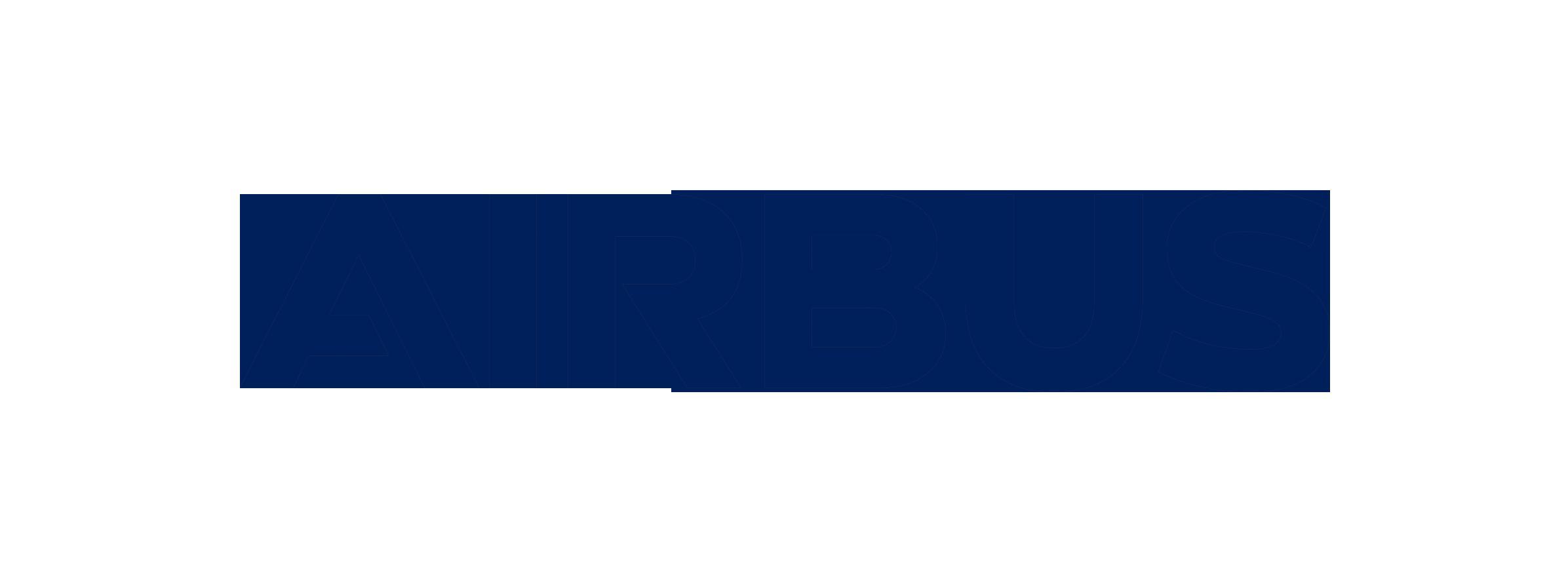 Airbus logo blue