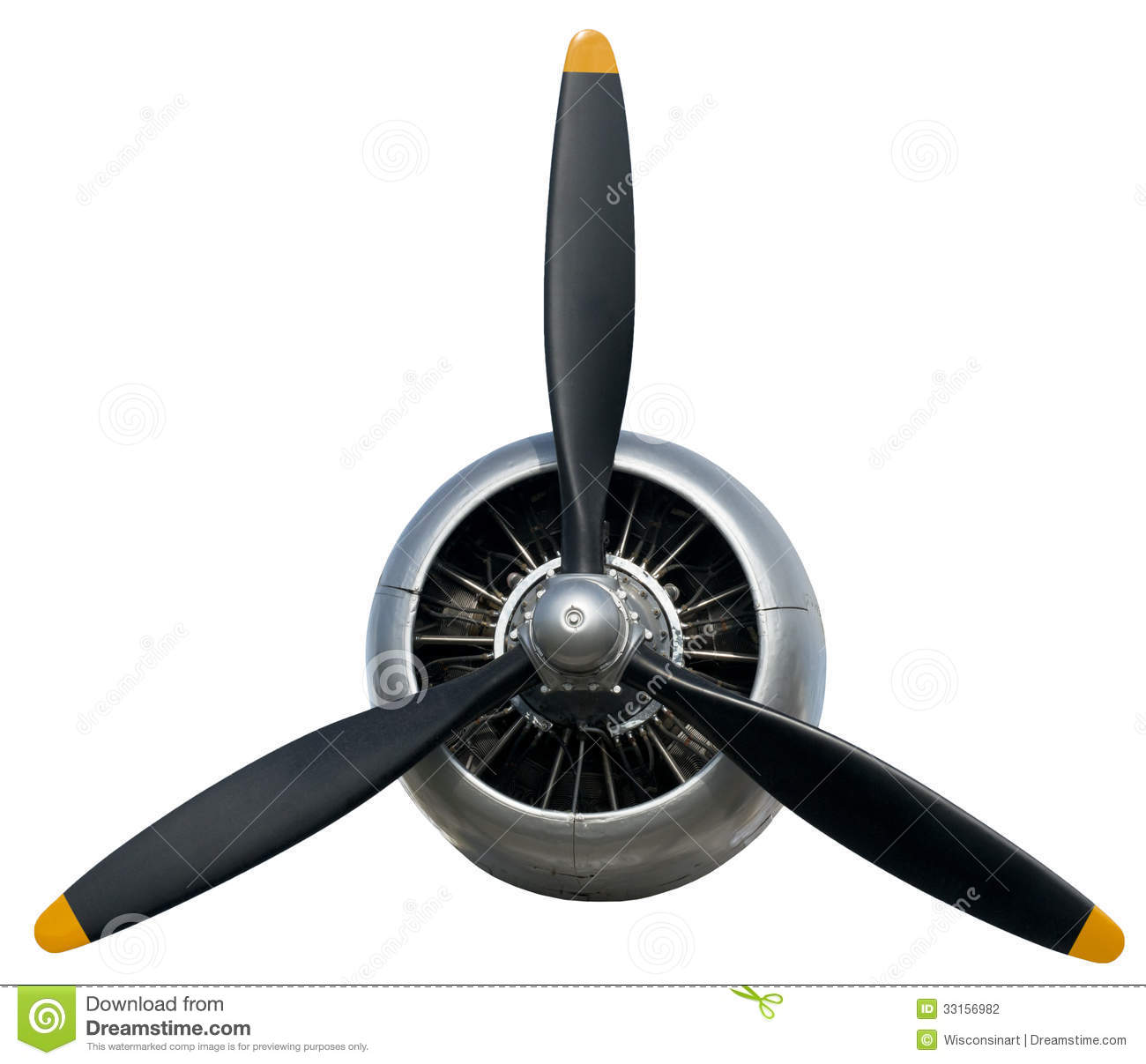 Airplane Propeller Clipart Prop - Airplane Prop PNG