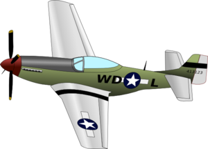 Plane With Propeller Clip Art - Airplane Prop PNG
