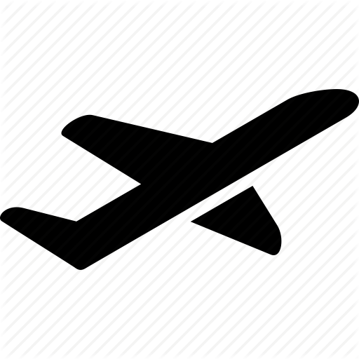 departure, flight, fly, launch, start, take off, takeoff icon - Airplane Taking Off PNG