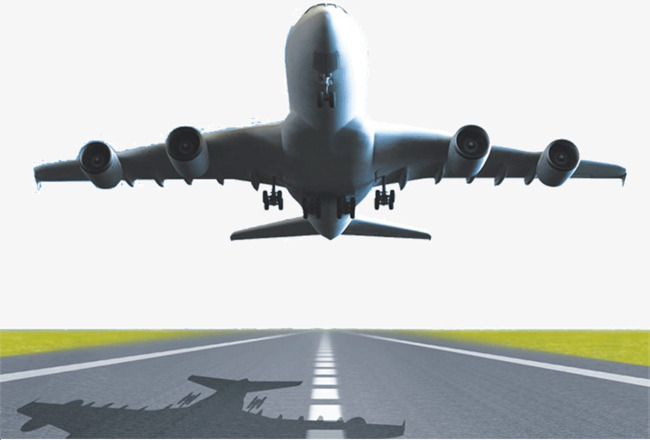 take off the plane, Aircraft, Track, Shadow PNG Image and Clipart - Airplane Taking Off PNG