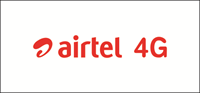 AIRTEL 4G Logo Vector - Airtel Vector PNG