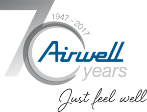 Airwell celebrates its 70th anniversary and create its subsdiary France  Airwell Distribution. - Airwell Logo PNG