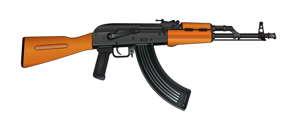 Ak-47 by ItsGoogleAndWindows PlusPng.com  - Ak47 HD PNG