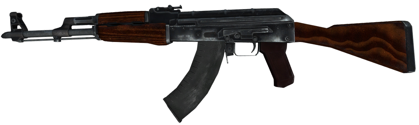 Full resolution PlusPng.com  - Ak47 HD PNG