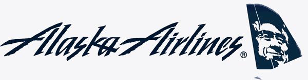 Alaska-Airlines-logo-3 - Alaska Airlines PNG