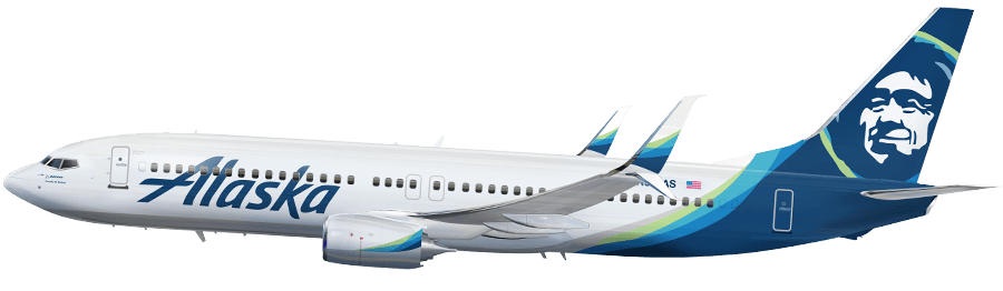 New Livery - Alaska Airlines PNG