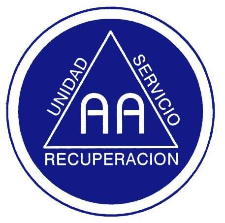 ALCOHOLISMO » SimboloAA logo doble a doble AA - Alcoholicos Anonimos Logo PNG