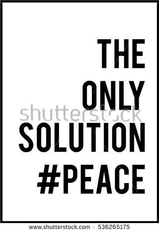 Peace text,slogan in vector. Peace on aleppo text.Peace on earth. - Aleppo Vector PNG