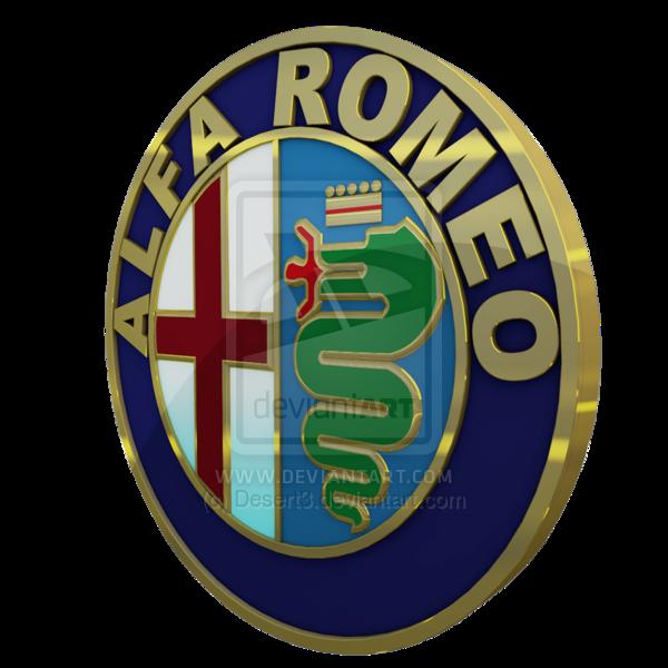 Alfa Romeo Logo 3D