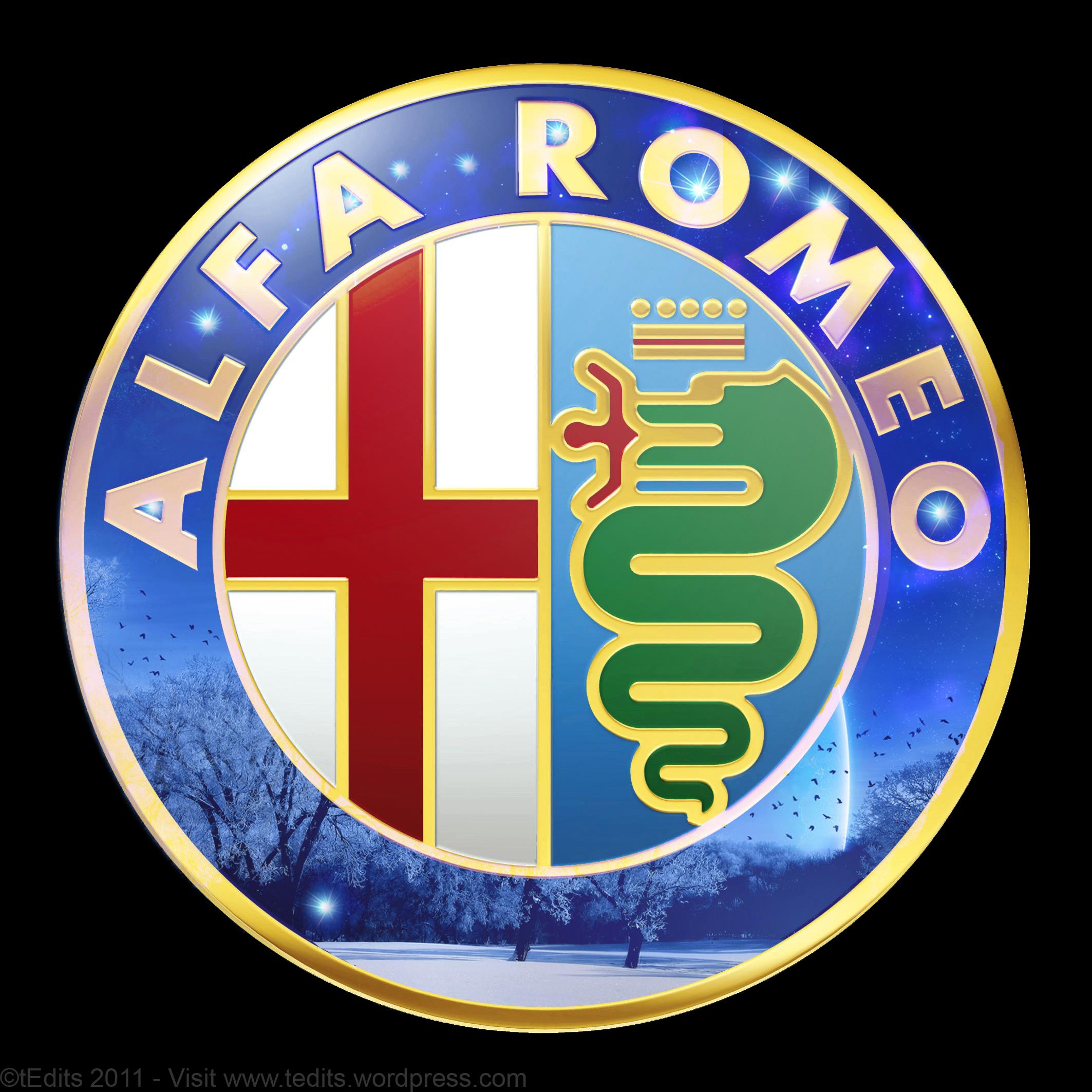 . PlusPng.com Alfa Romeo Logo Wallpaper - Alfa Romeo HD PNG