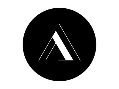 Ali Aziz Logo Design AA ident
