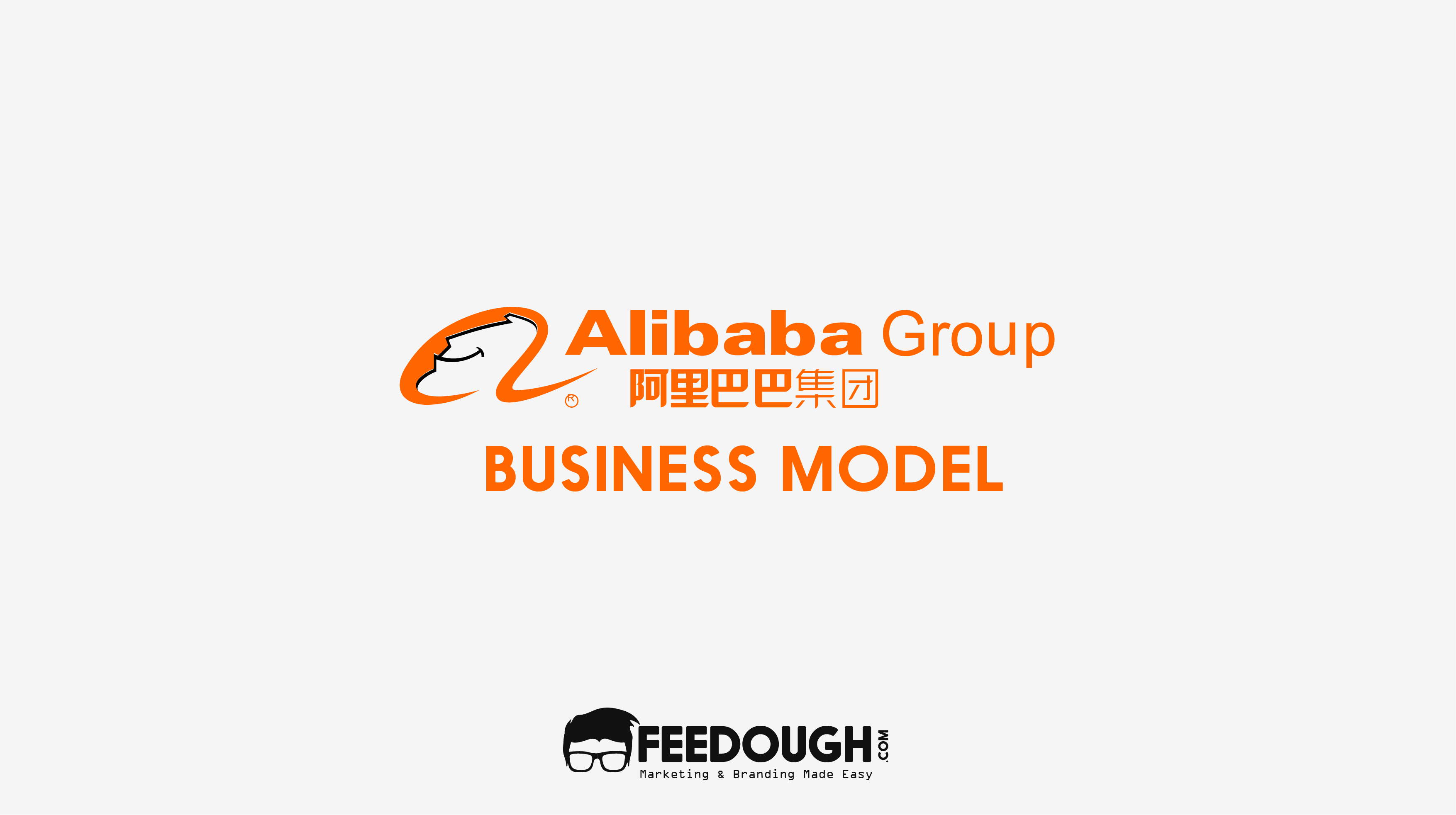 how does ALIBABA make money - Alibaba Group PNG