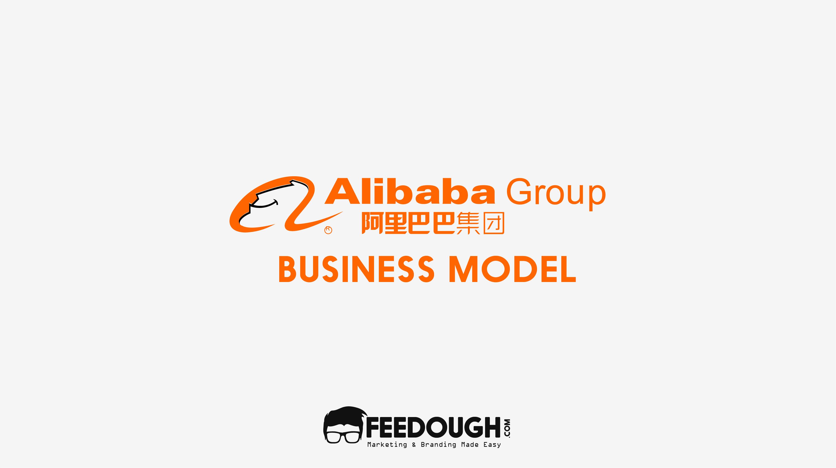 How Does ALIBABA Make Money - Alibaba Group PNG