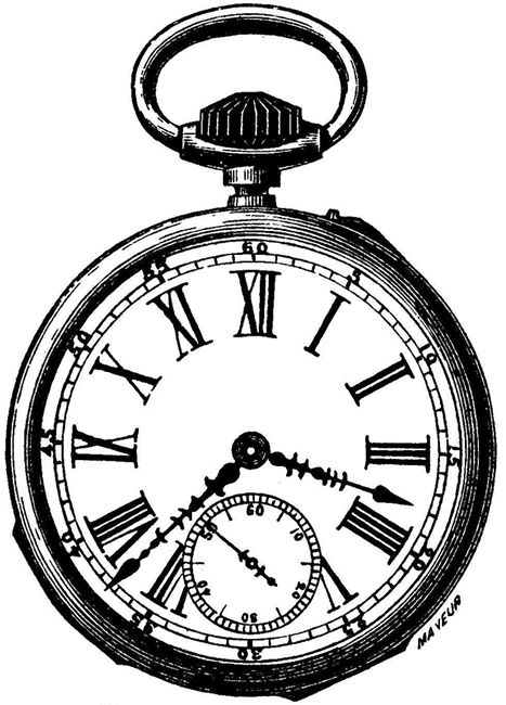 Alice in wonderland clock clipart. pocket watch clipart - Alice In Wonderland Pocket Watch PNG