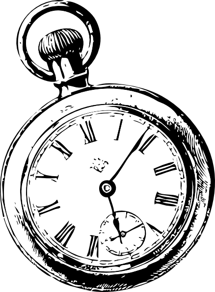 PNG: small · medium · large - Alice In Wonderland Pocket Watch PNG