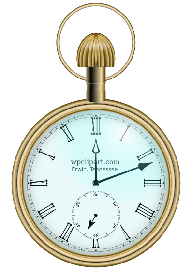 Pocket Watch Fancy - Alice In Wonderland Pocket Watch PNG