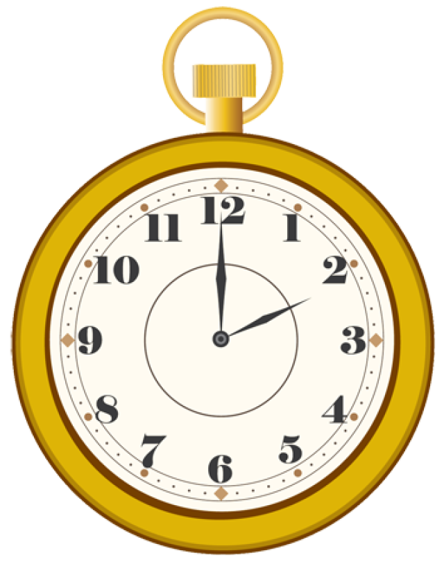 White Rabbit Pocket Watch Template · Alice In Wonderland PlusPng.com  - Alice In Wonderland Pocket Watch PNG