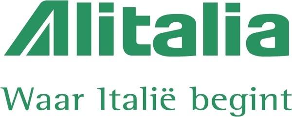 Alitalia 1 - Alitalia Logo Vector PNG