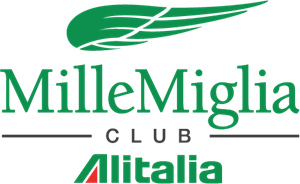 Alitalia Millemiglia Club Logo Vector - Alitalia Logo Vector PNG