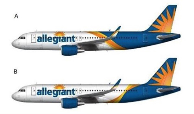 Allegiant Air 2016 livery options - Allegiant Air PNG