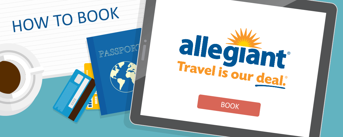 How to Book Allegiant Air Award Flights - Allegiant Air PNG