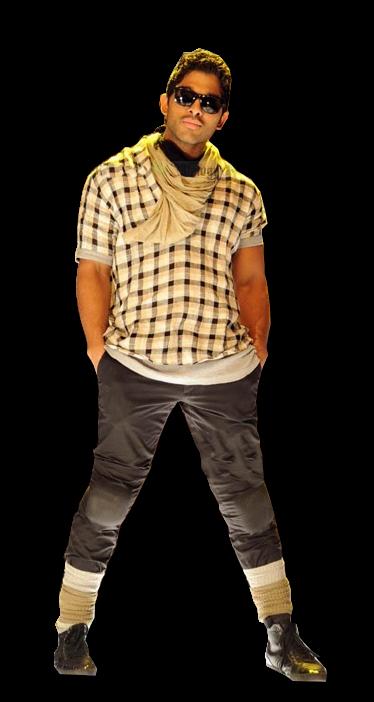 Fanz Workz_ .png - Allu Arjun PNG