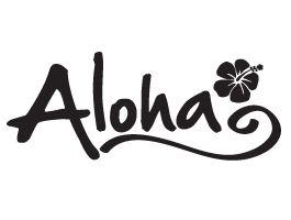 aloha-tattoo.png (265×200) | Aloha | Pinterest | Tattoo, Aloha tattoo and  Hawaiian tattoo - Aloha Style PNG