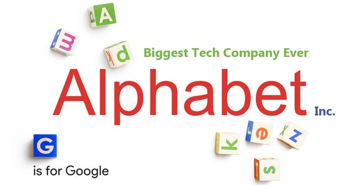 Alphabet Celebrates Its First Anniversary - Alphabet Inc Logo PNG