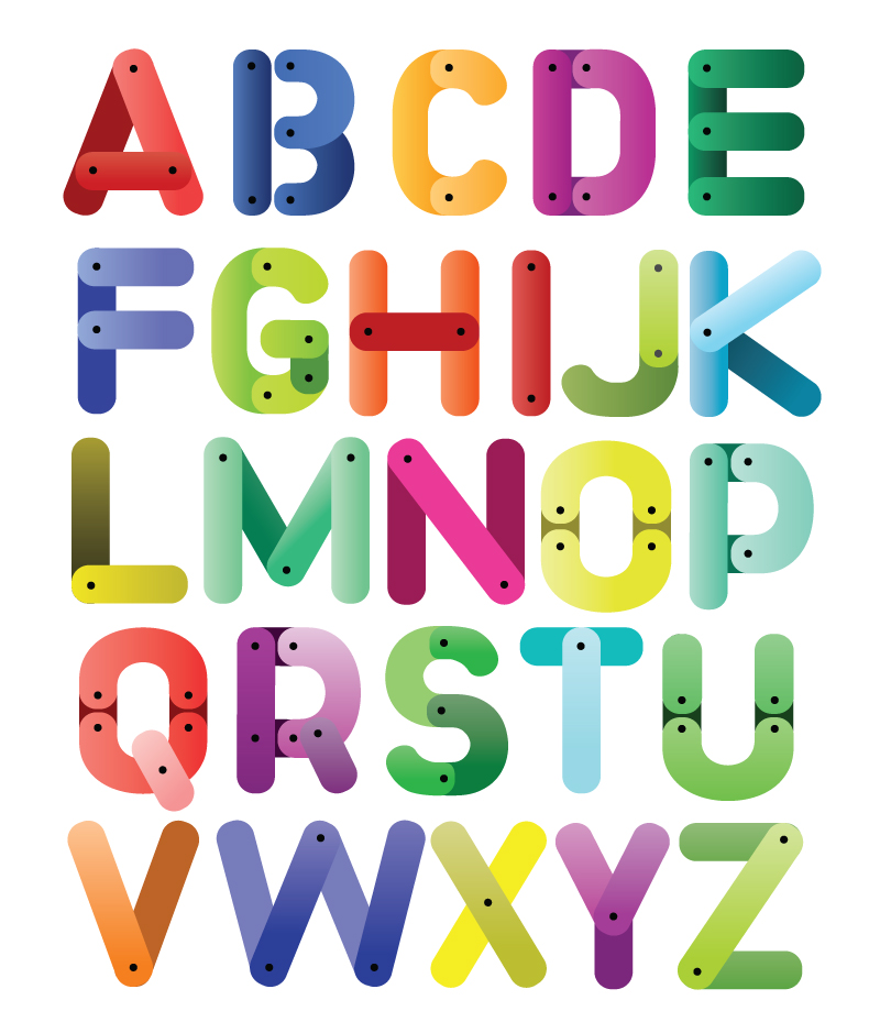 26 letters in the English alphabet. PlusPng.com So you could display a different  letter - Alphabets PNG